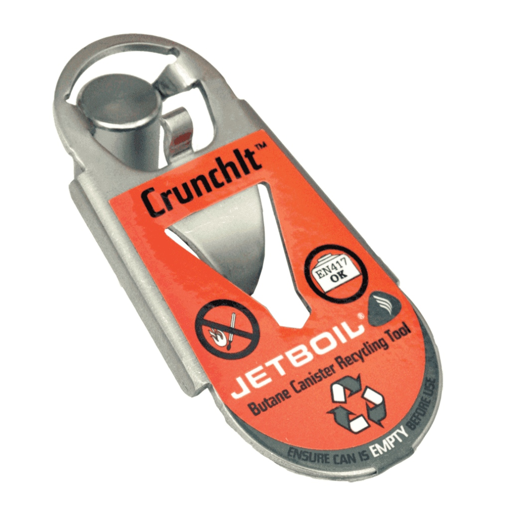 Jetboil Crunchit Gas Canister Recycling Tool