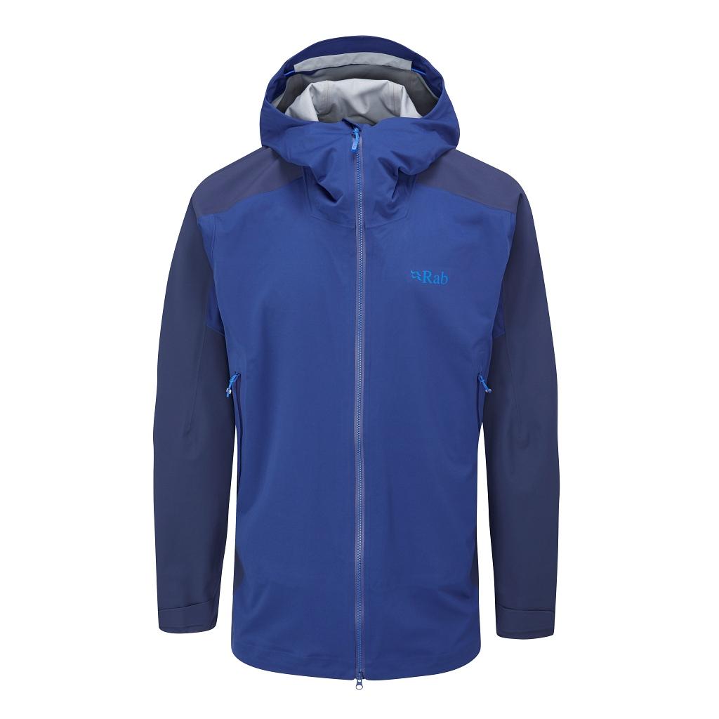 Rab Kinetic Alpine 2.0 Jacket Mens - Nightfall Blue