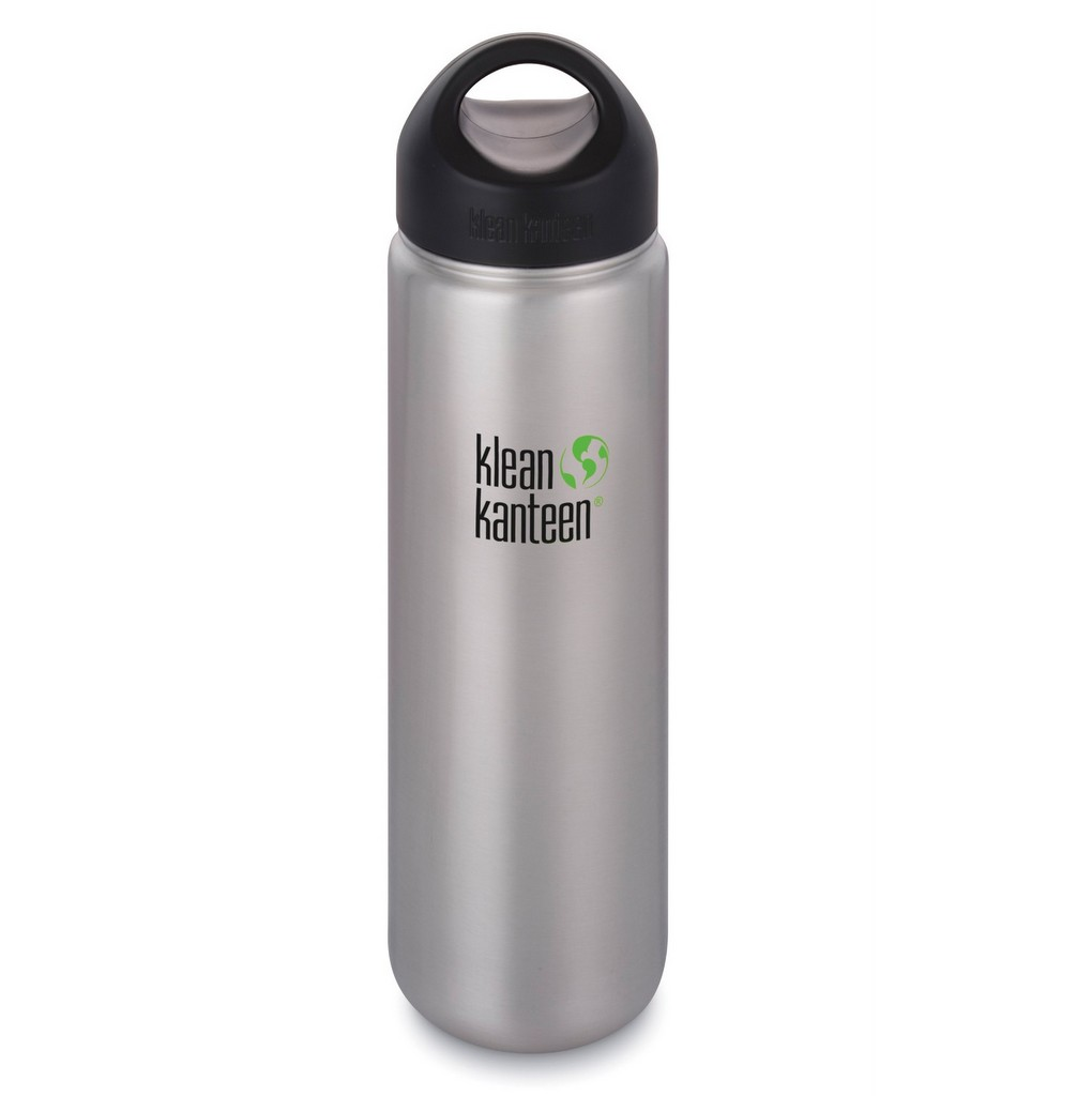 Klean Kanteen 800ml (27oz) Bottle - Wide Mouth Stainless