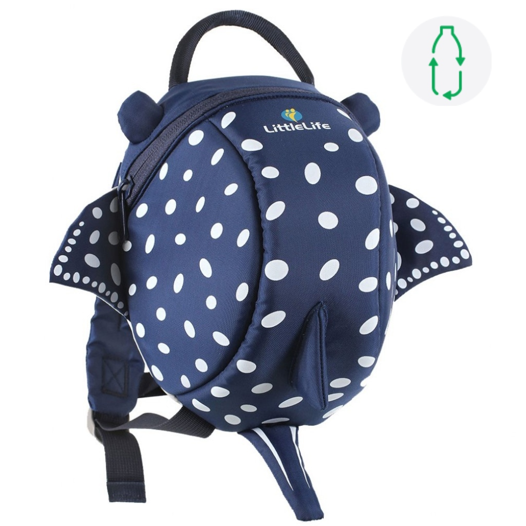 Littlelife Toddler Backpack with Rein - Sydney the Stingray