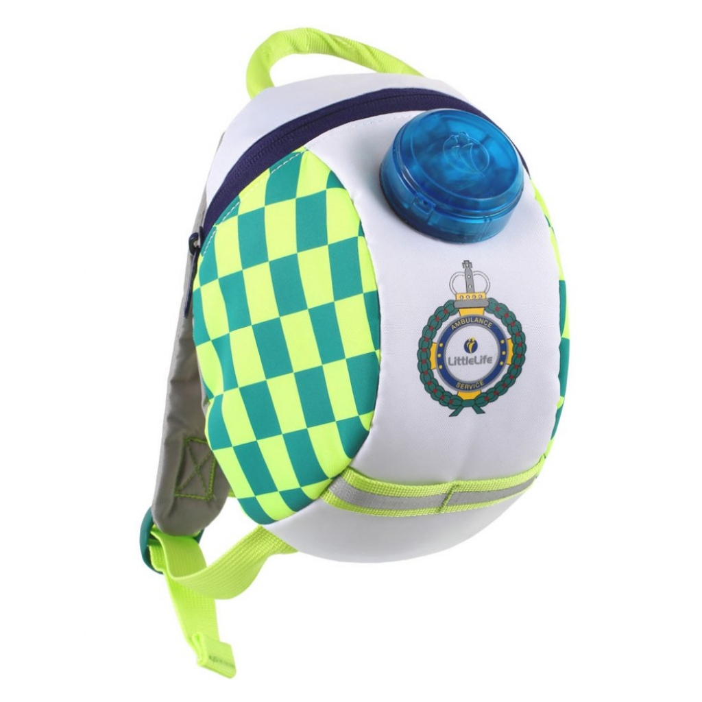 Littlelife Toddler Backpack with Rein - Ambulance
