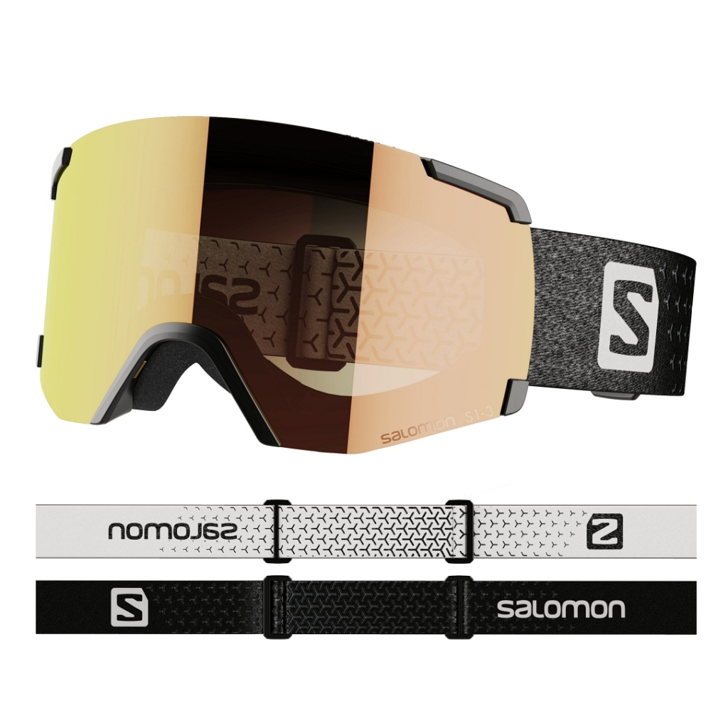 Salomon S View Photo Ski Goggles Unisex - Black
