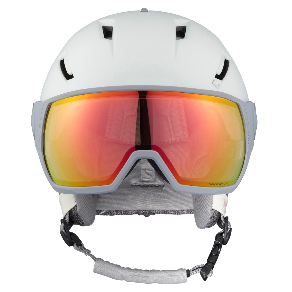 Salomon Icon² Visor Photo Ski Helmet Womens Season 20/21