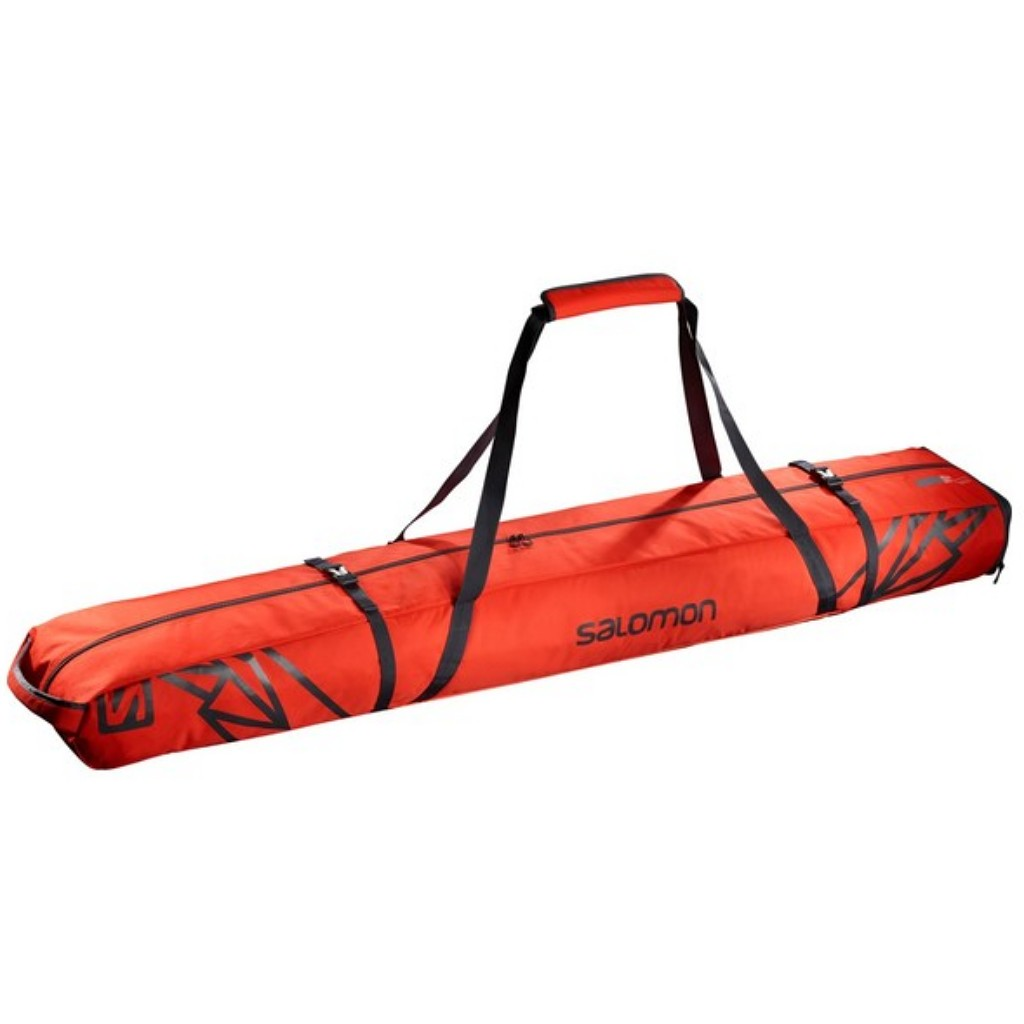 Salomon Extend 2 Pairs 175 + 20cm Skis Bag
