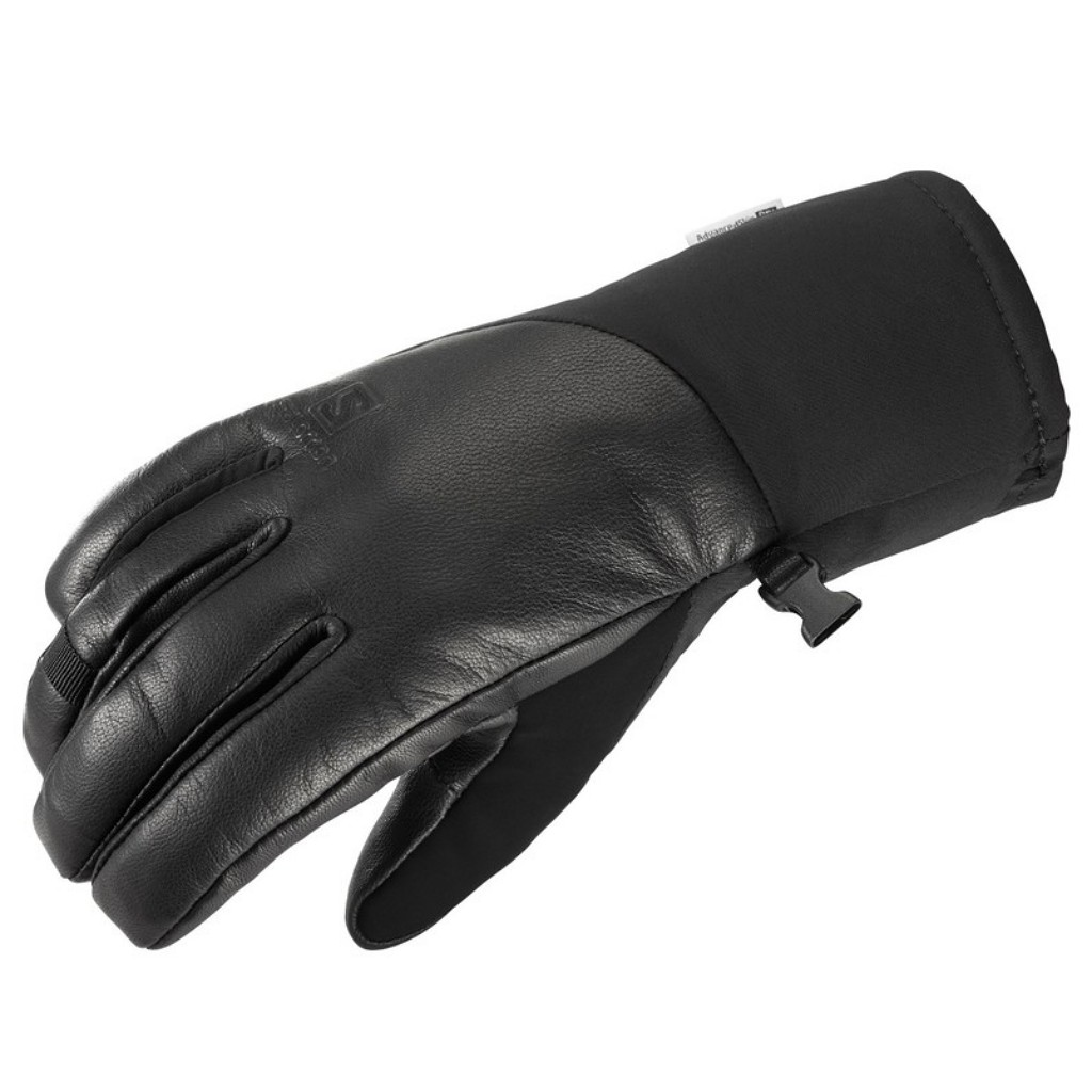 Salomon Propeller Plus Gloves Leather / Softshell