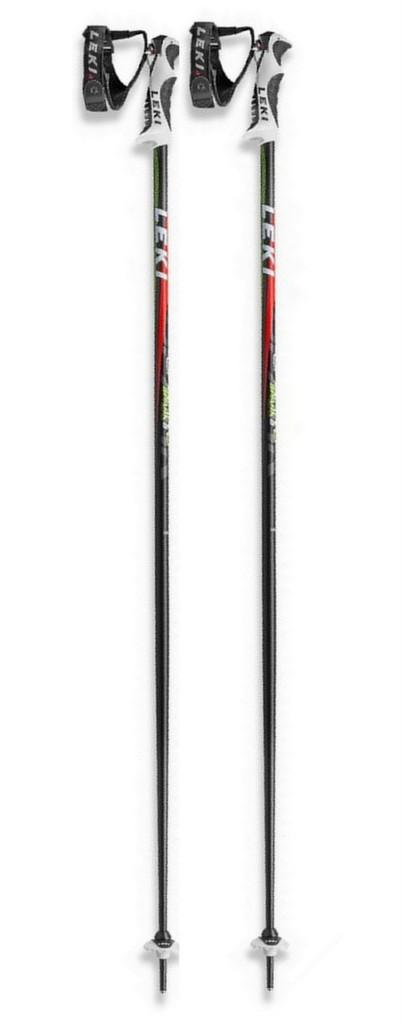 Leki Spark S Ski Poles & Vertex 10S Ski Gloves