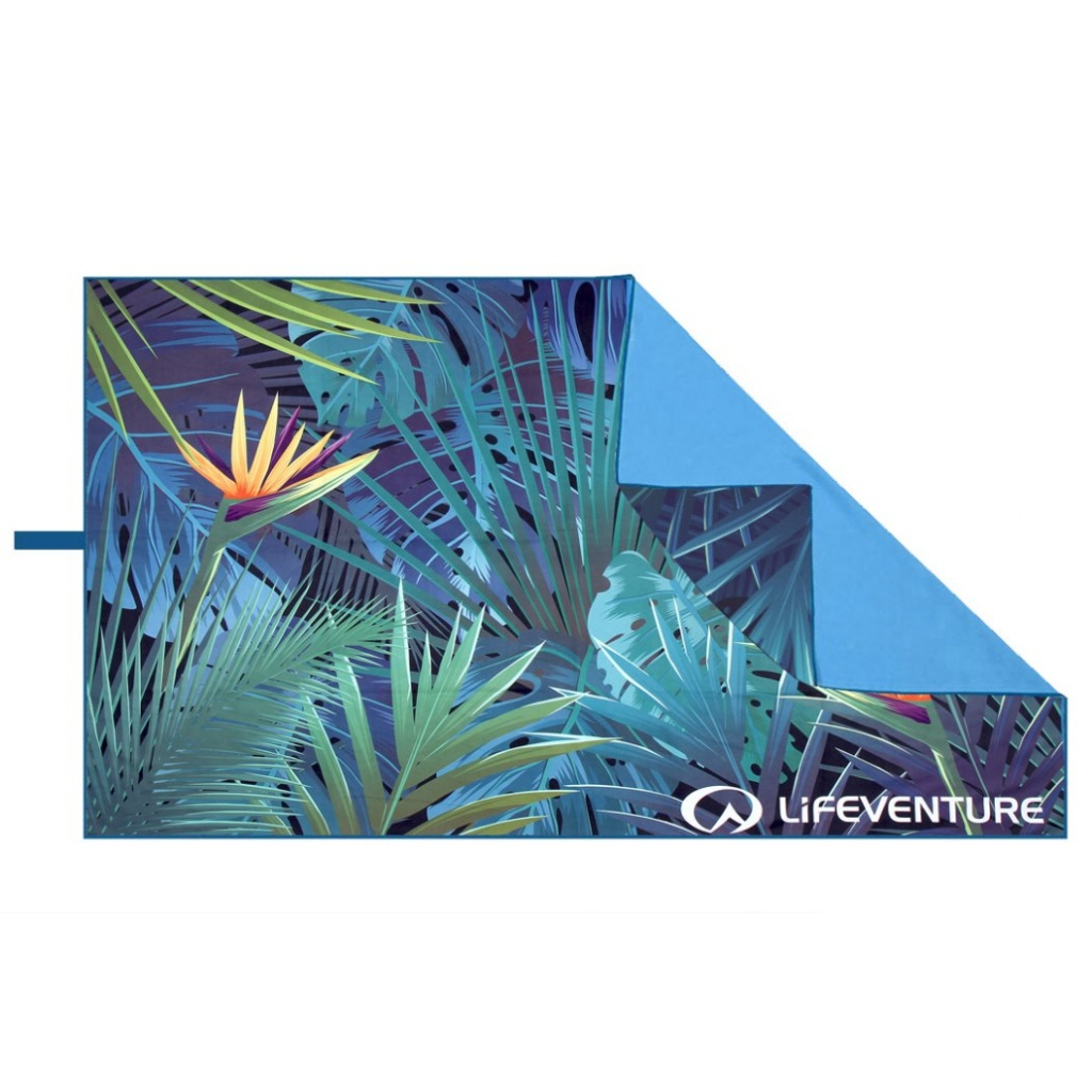 Lifeventure SoftFibre Printed Travel Towel 150 x 9