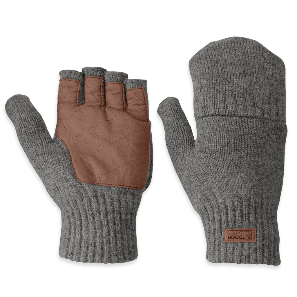 Outdoor Research Lost Coast Fingerless Flip-Top Mitts Mens