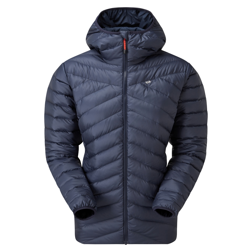 Mountain Equipment Earthrise Recycled Down Hooded Jacket Womens - Cosmos AW21/22