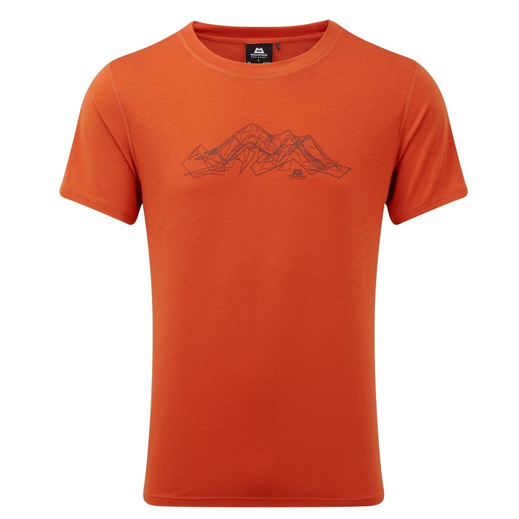 Mountain Equipment Groundup Mountain Tee Mens - Paprika