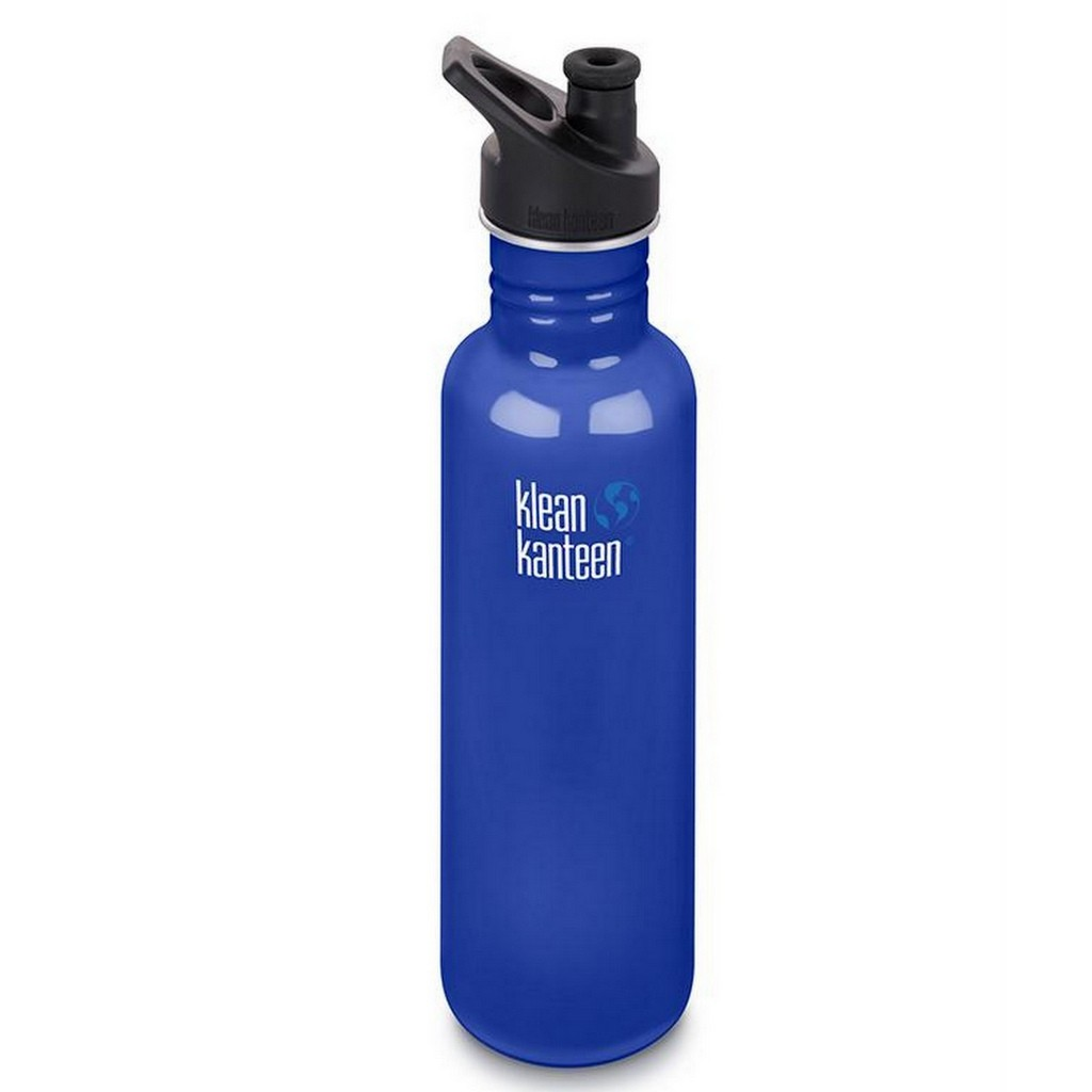 Klean Kanteen Classic w/ Sport Cap 800ml (27oz) Single Wall Bottle