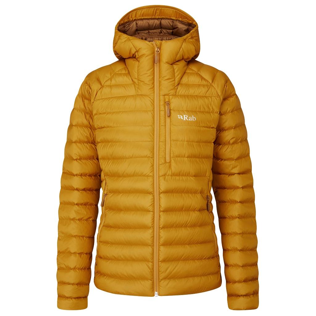 Rab Microlight Alpine Jacket Womens - Dark Butternut AW21/22