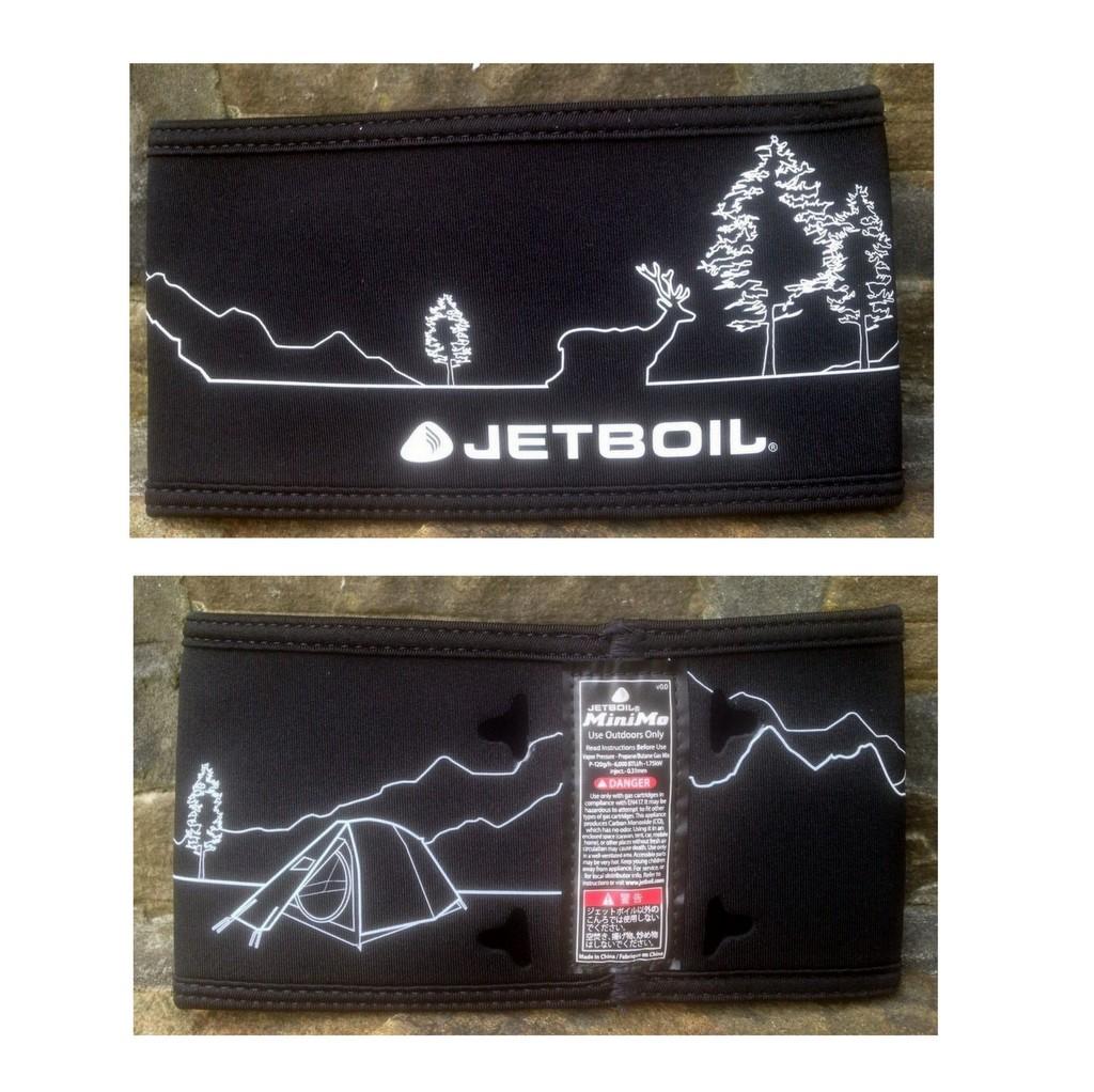 Jetboil MINIMO Cozy Carbon Line Art