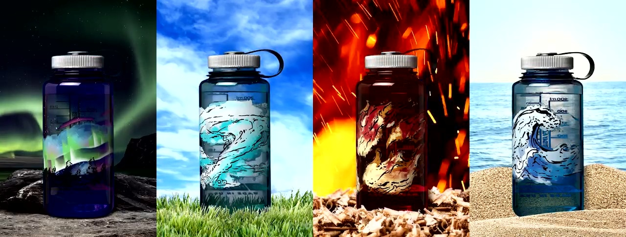 LIMITED EDITION NALGENE 1L BOTTLES