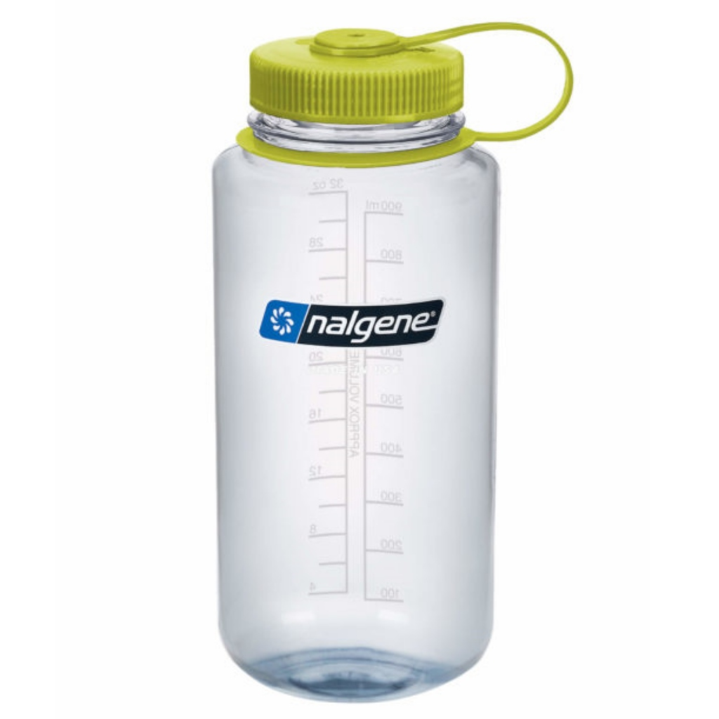 Nalgene 1L Wide Mouth Tritan Water Bottle - Clear