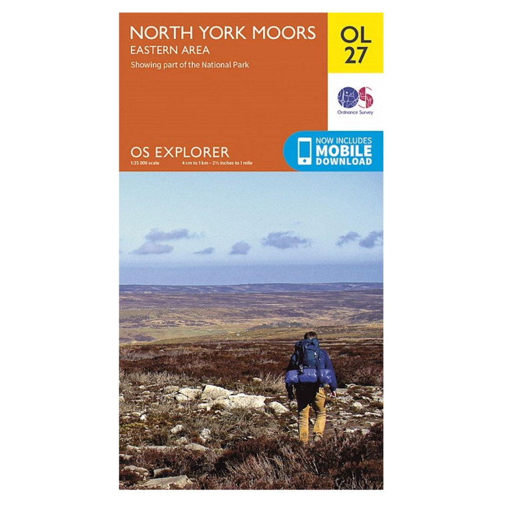 OS Explorer OL27 North York Moors - Eastern area