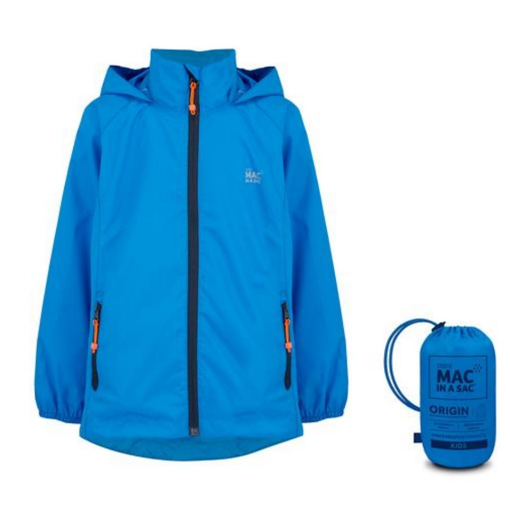 Mac In A Sac Origin Childrens - Mini Packable Waterproof Jacket