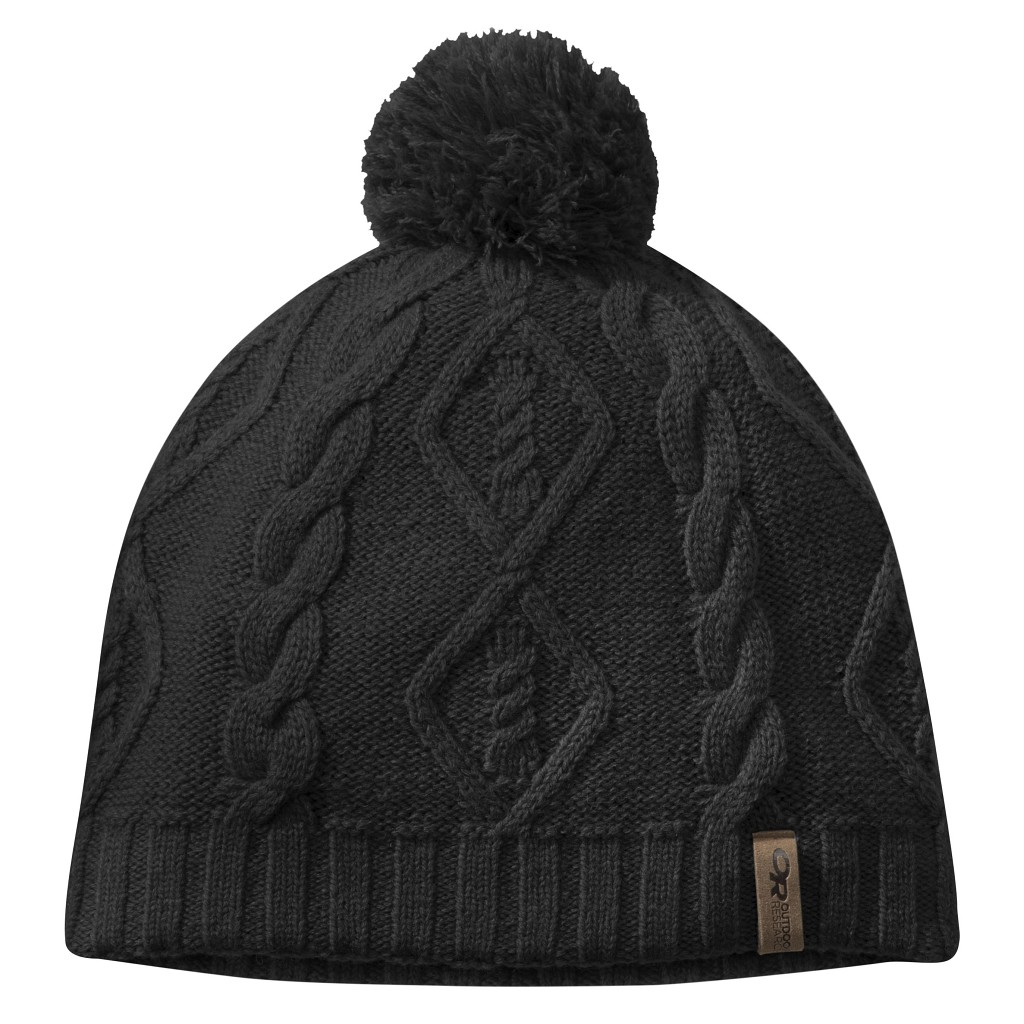 Outdoor Research W Lodgeside Windstopper Beanie - Black