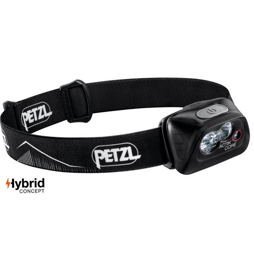 Petzl Actik Core 450 Lumens Rechargeable Headlamp - Black