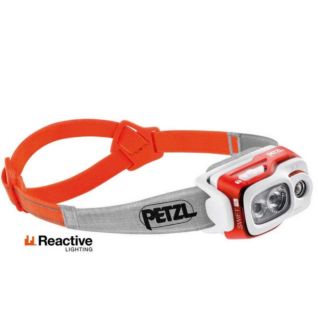 Petzl Swift RL 900 Lumens - Orange