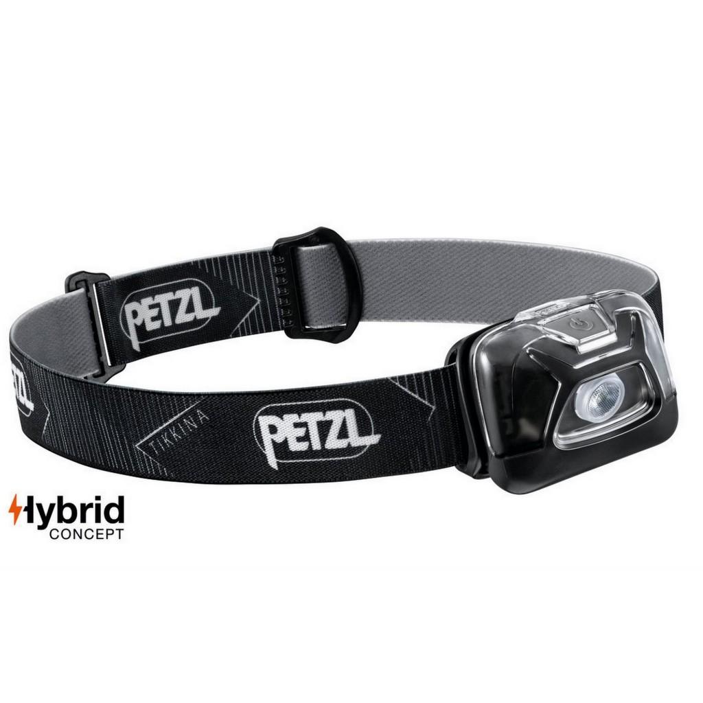 Petzl Tikkina Hybrid Headlamp 250 Lumens - Black