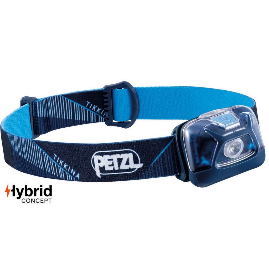 Petzl Tikkina Hybrid Headlamp 250 Lumens - Blue