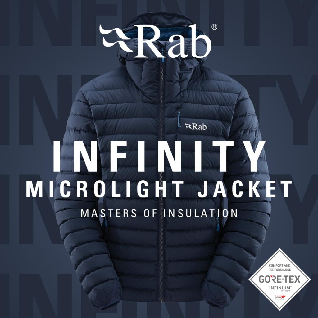 Rab Infinity Microlight Jacket - Deep Ink AW21/22