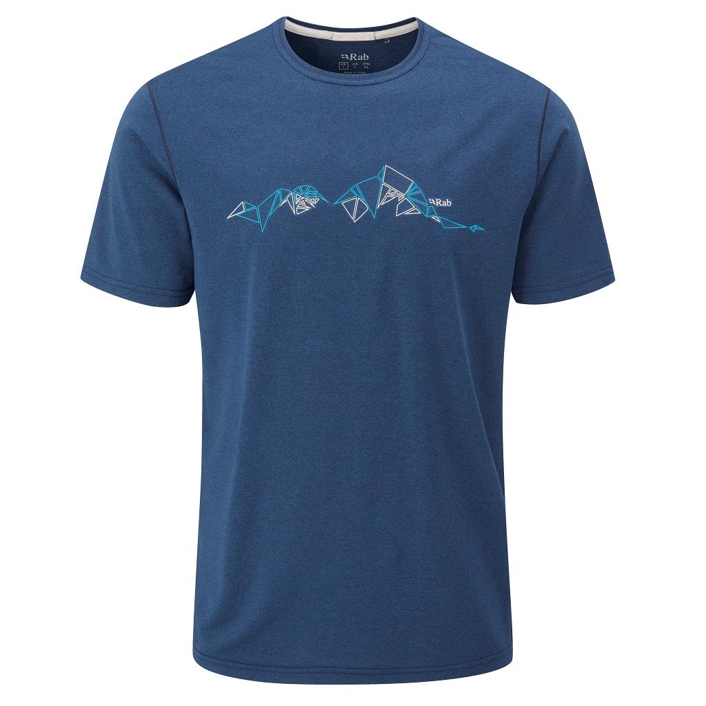 Rab Mantle Tessalate Tee - Nightfall Blue