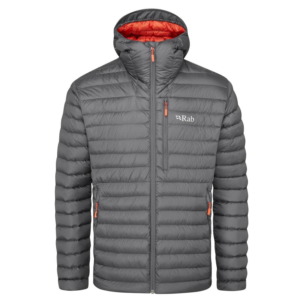 Rab Microlight Alpine Down Jacket Mens - Graphene