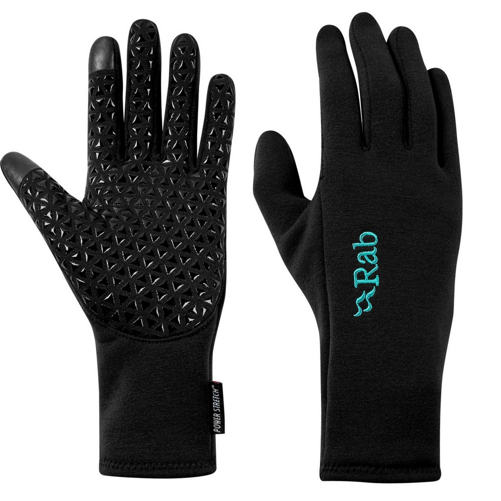 Rab Power Stretch Contact Grip Gloves Womens