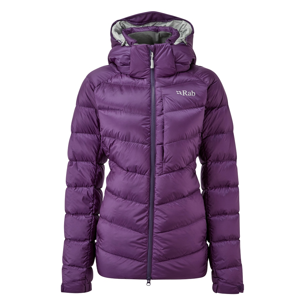 Rab Axiom Pro Recycled Down Jacket Womens AW 20/21 - Blackcurrant