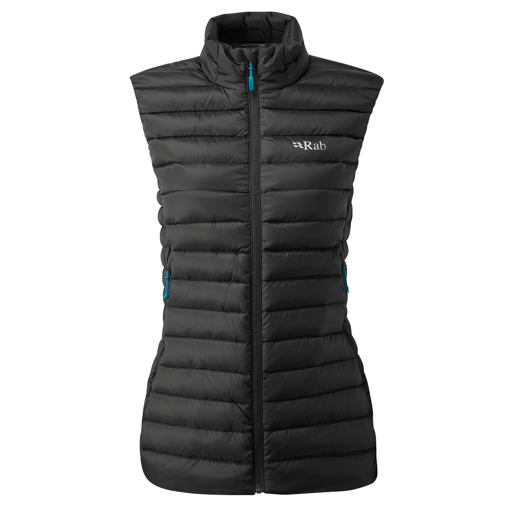 Rab Microlight Down Vest Womens - Black