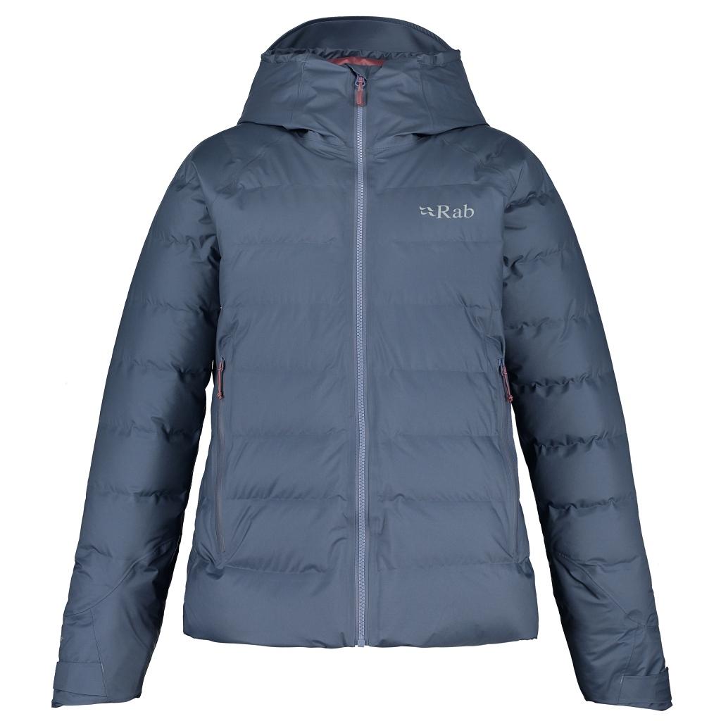 Rab Valiance Down Waterproof Jacket Womens - Bering Sea AW21/22