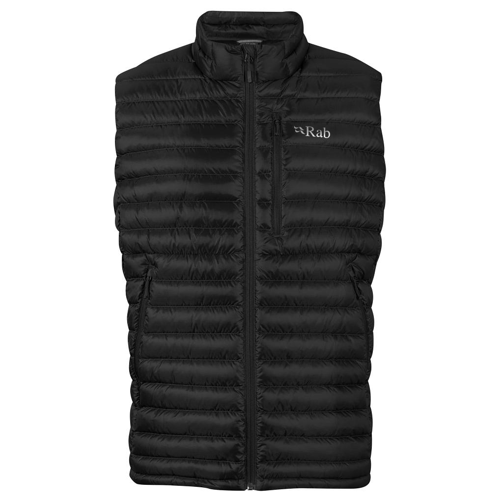 Rab Microlight Down Vest Mens - Black