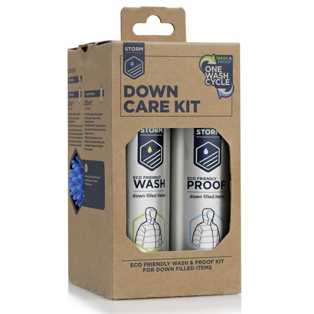 Storm Down Care Kit Wash-in Cleaner & Proofer