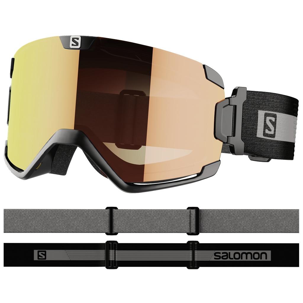 Salomon Cosmic Photo OTG Ski Goggles Cat. 1-3 Unisex - Black