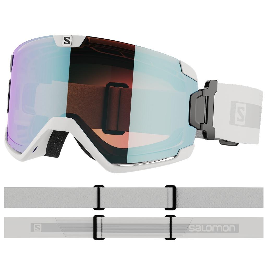 Salomon Cosmic Photo OTG Ski Goggles Cat. 1-3 Unisex - White