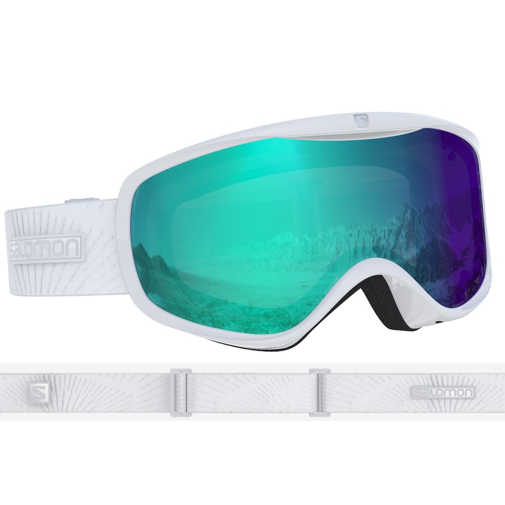 Salomon Sense Photo Ski Goggles Womens - White