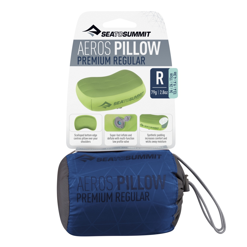 Sea to Summit Aeros Premium Pillow Regular Navy