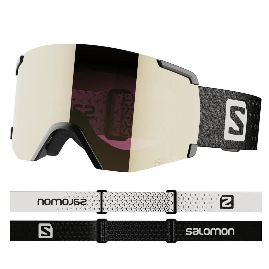 Salomon S View Sigma Ski Goggles Unisex - Black