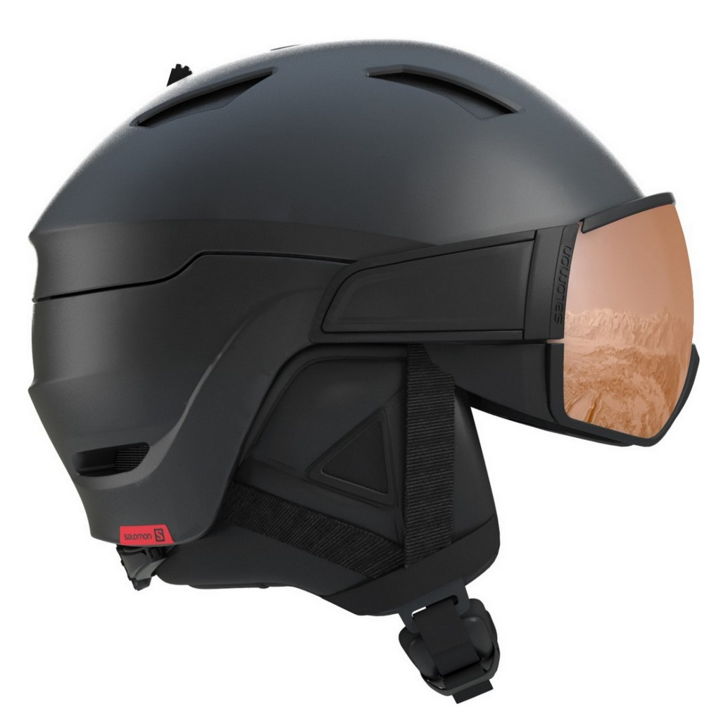Salomon Driver S Visor Ski Helmet