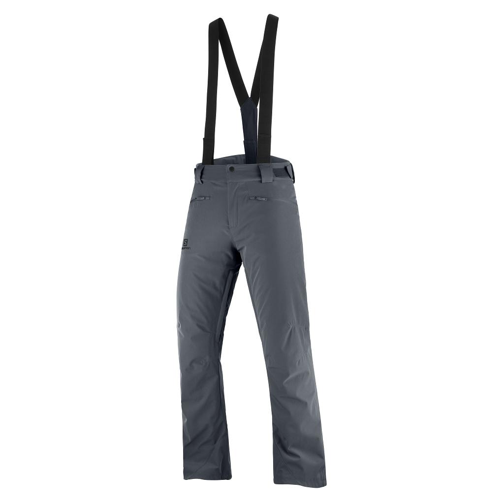 Salomon Edge Ski Pants Mens Ebony - Short or Regular Leg Length