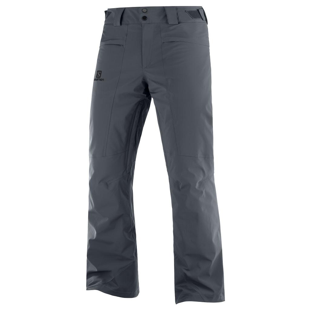 Salomon Brilliant Ski Pants Mens Ebony - Short or Regular Leg Length