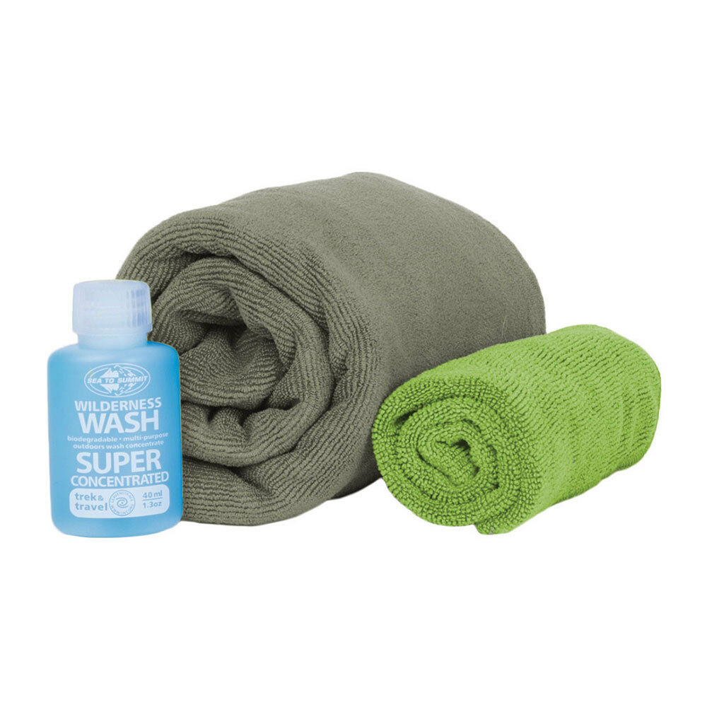 Sea to Summit Tek Towel Wash Kit - M