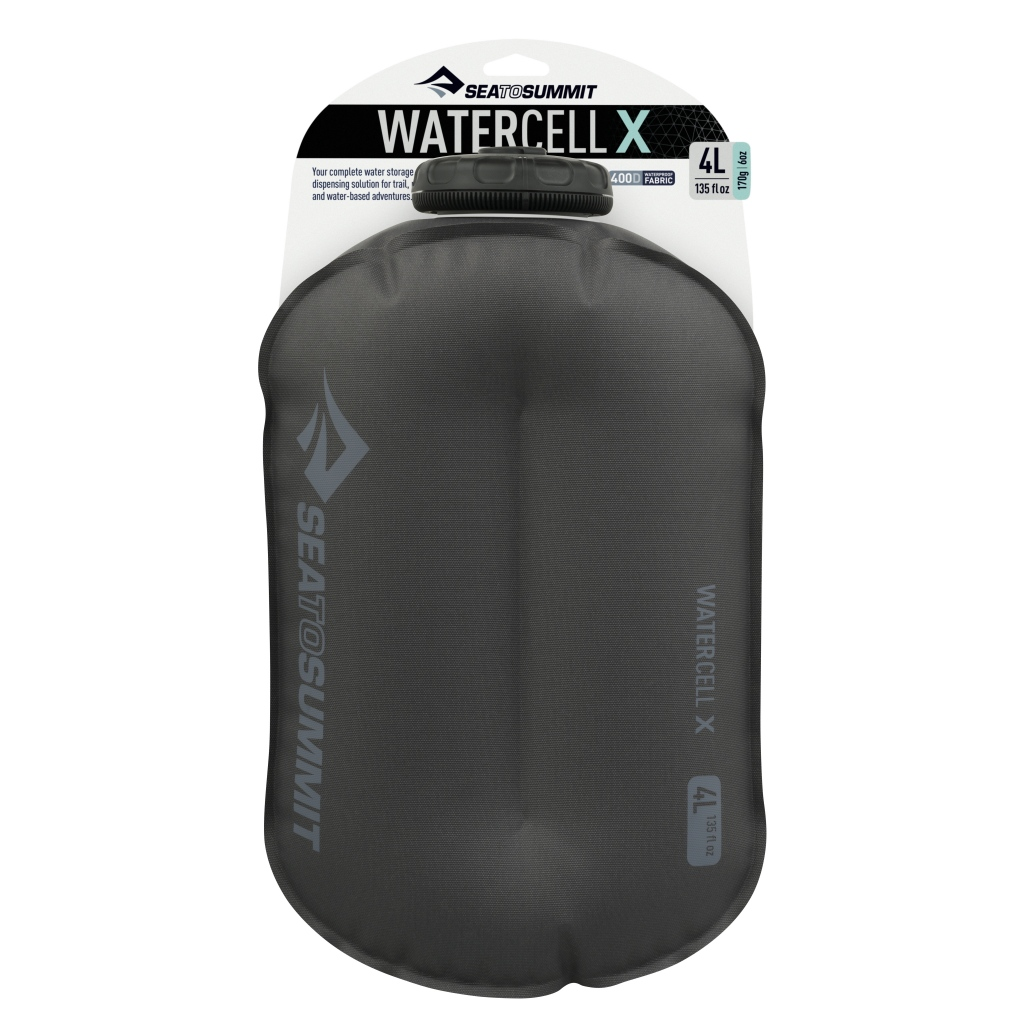 Sea to Summit Watercell X 4 Litres - Collapsible Water Storage / Shower