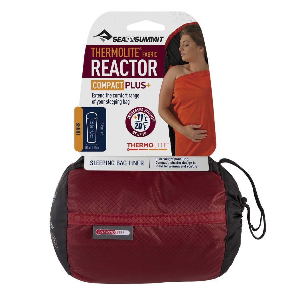 Sea to Summit Thermolite Reactor Compact Plus+ (Shorter Length) +11°C Liner