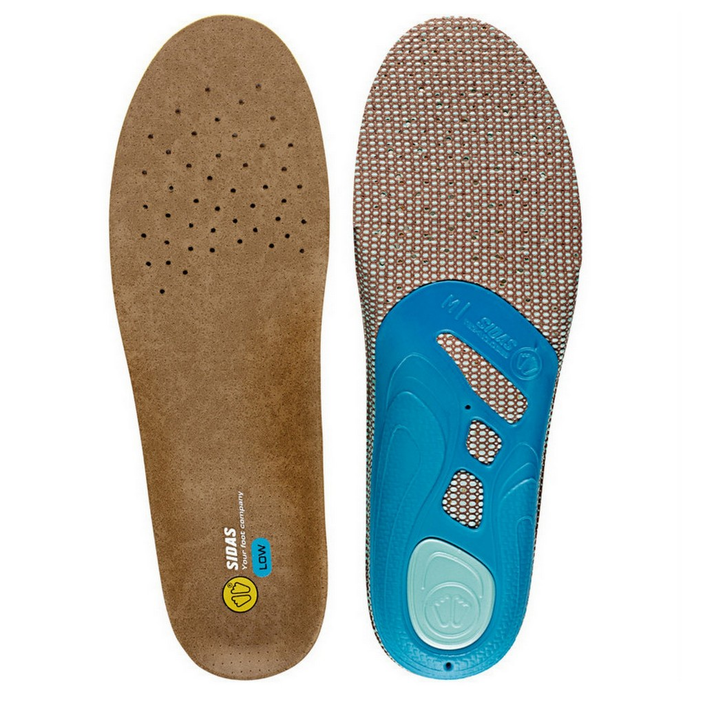 Sidas 3Feet Outdoor Low Arch Anatomical Insoles