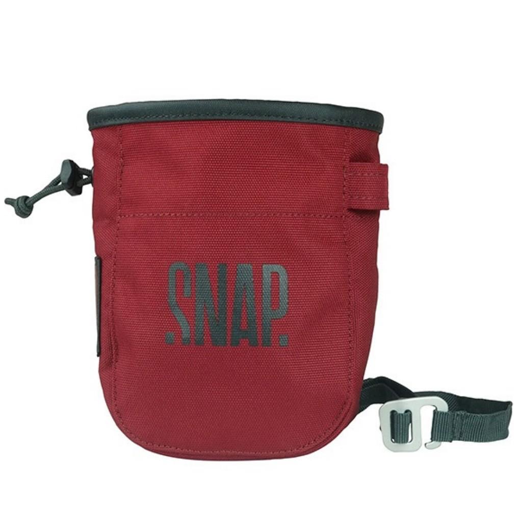 Snap Chalk Pocket Chalk Bag - Burgundy