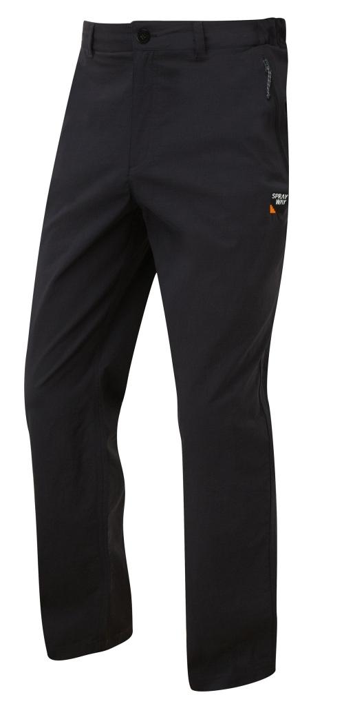 Sprayway Compass Pant Mens Black - Short Leg Length