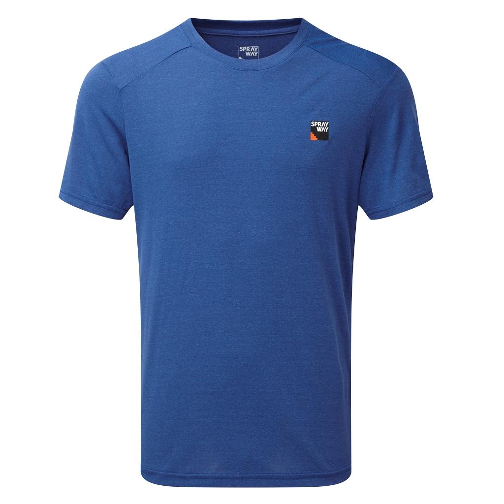 Sprayway Logo Tee Mens - Yukon Blue